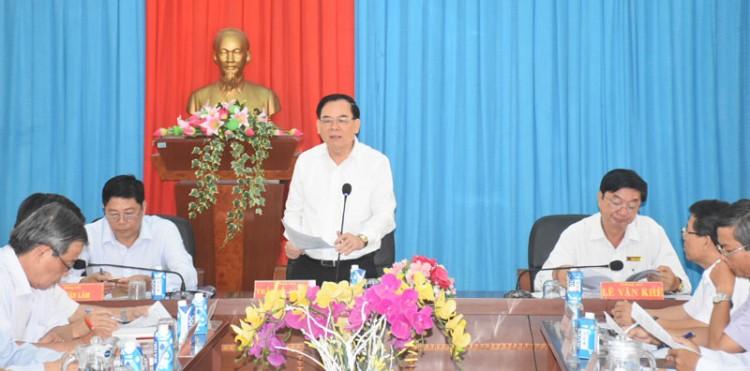 Thạnh Phú phát triển thành trung tâm năng lượng sạch của tỉnh trong tương lai