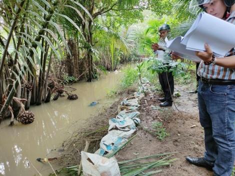 Khẩn trương nạo vét, khơi thông kênh Xáng khắc phục ô nhiễm môi trường