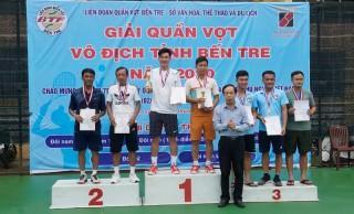 Bế mạc Giải Quần vợt vô địch tỉnh Bến Tre năm 2020