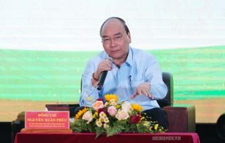 Thủ tướng đối thoại với nông dân về vượt thách thức, giữ tăng trưởng