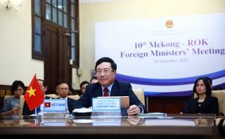 Các nước Mekong, Hàn Quốc nhất trí đẩy mạnh hơn tác 7 lĩnh vực