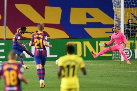 Fati lập cú đúp, Barca ra quân đại thắng