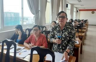 Sơ kết công tác Hội và phong trào phụ nữ