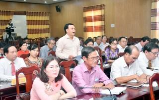 HĐND tỉnh tổ chức phiên giải trình về cơ chế phát huy các thiết chế văn hóa