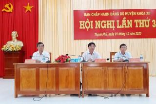 Thạnh Phú sơ kết tình hình thực hiện Nghị quyết 9 tháng đầu năm