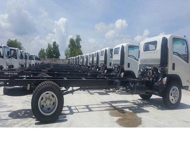 Xe tải isuzu 3.49 tấn, hỗ trợ vay ngân hàng lãi suất thấp